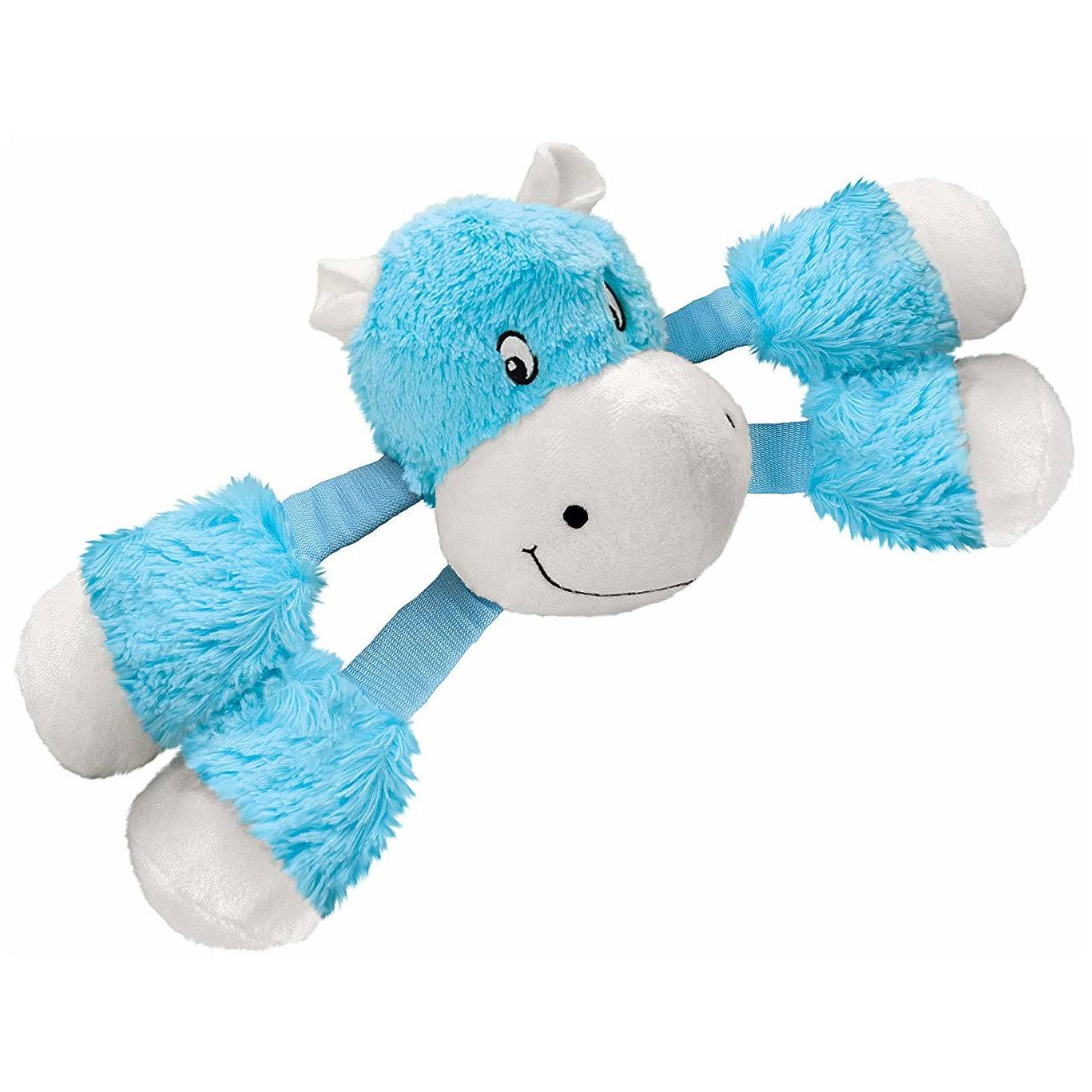 Kong RSL33 Stretchezz Legz Hippo Dog Toy, Small