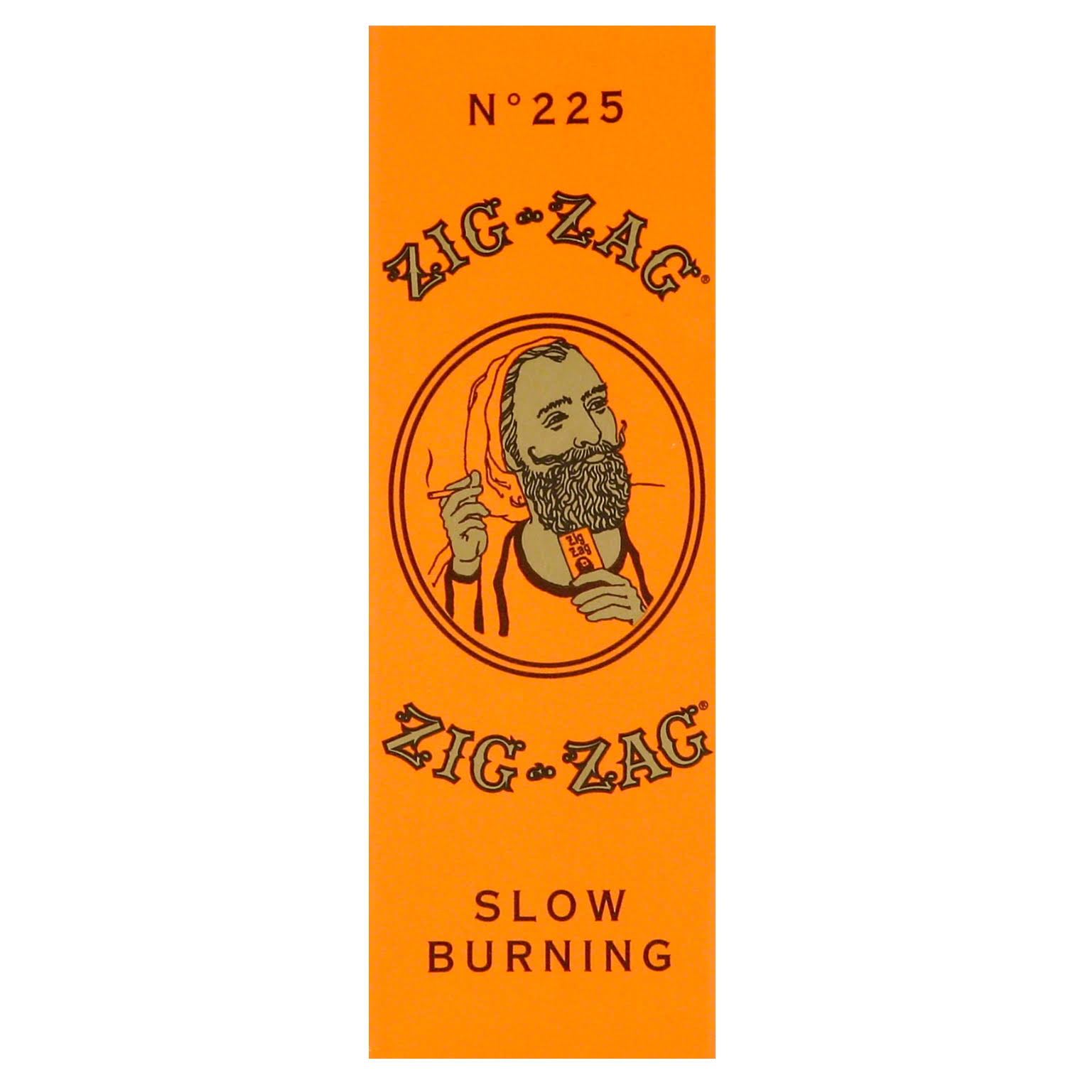 Zig Zag Cigarette Paper, Slow Burning, No. 225 - 32 leaves