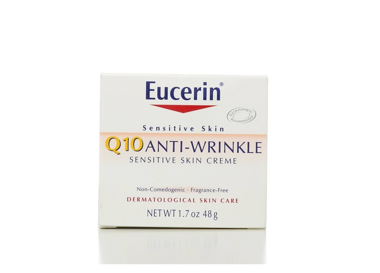 Eucerin Sensitive Skin Experts Q10 Anti-Wrinkle Face Crème - 1.7 oz