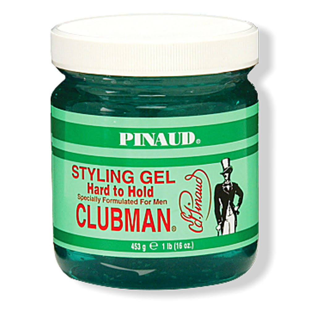 Pinaud Clubman Styling Gel, Hard to Hold - 16 oz