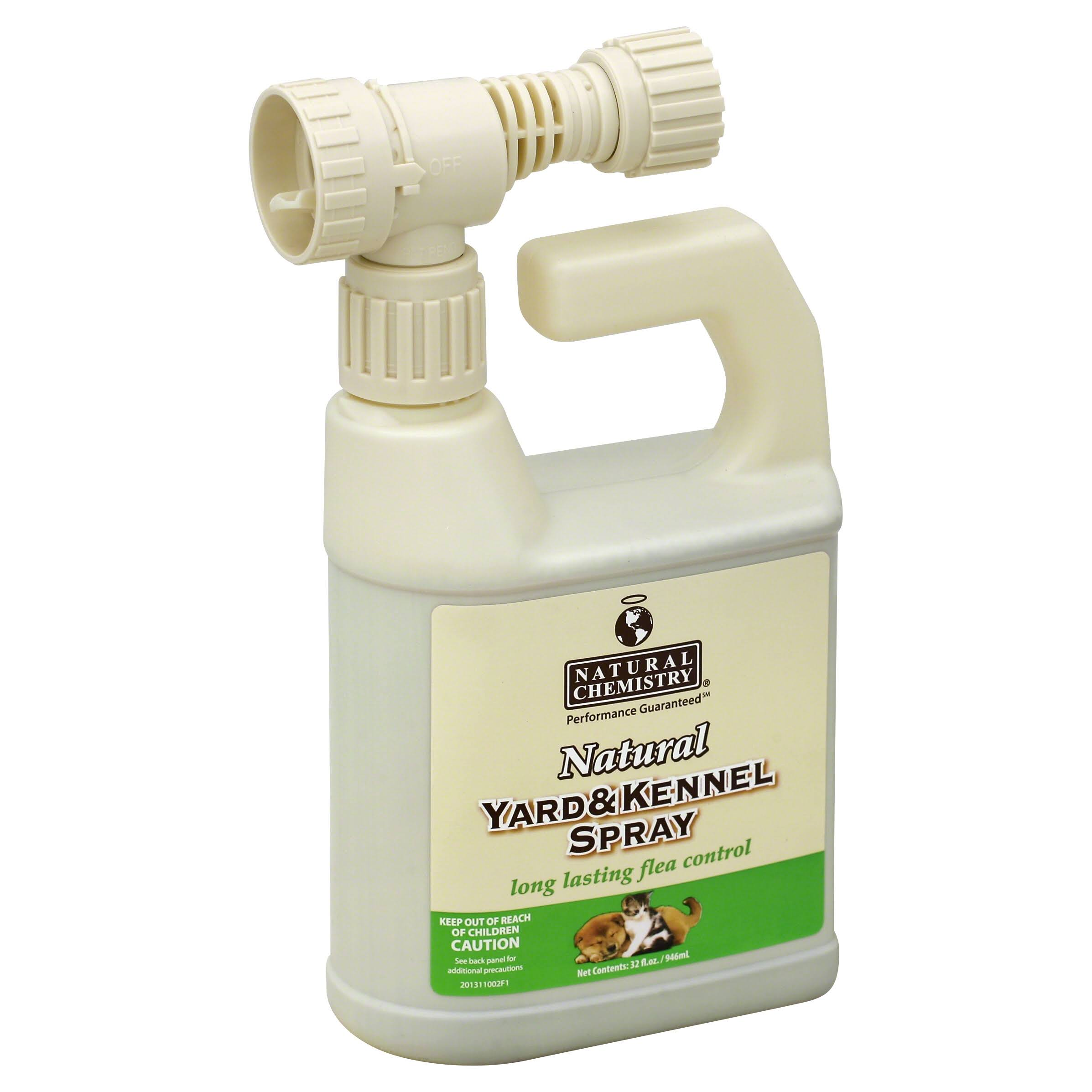 Natural Chemistry Yard & Kennel Spray - 32 oz
