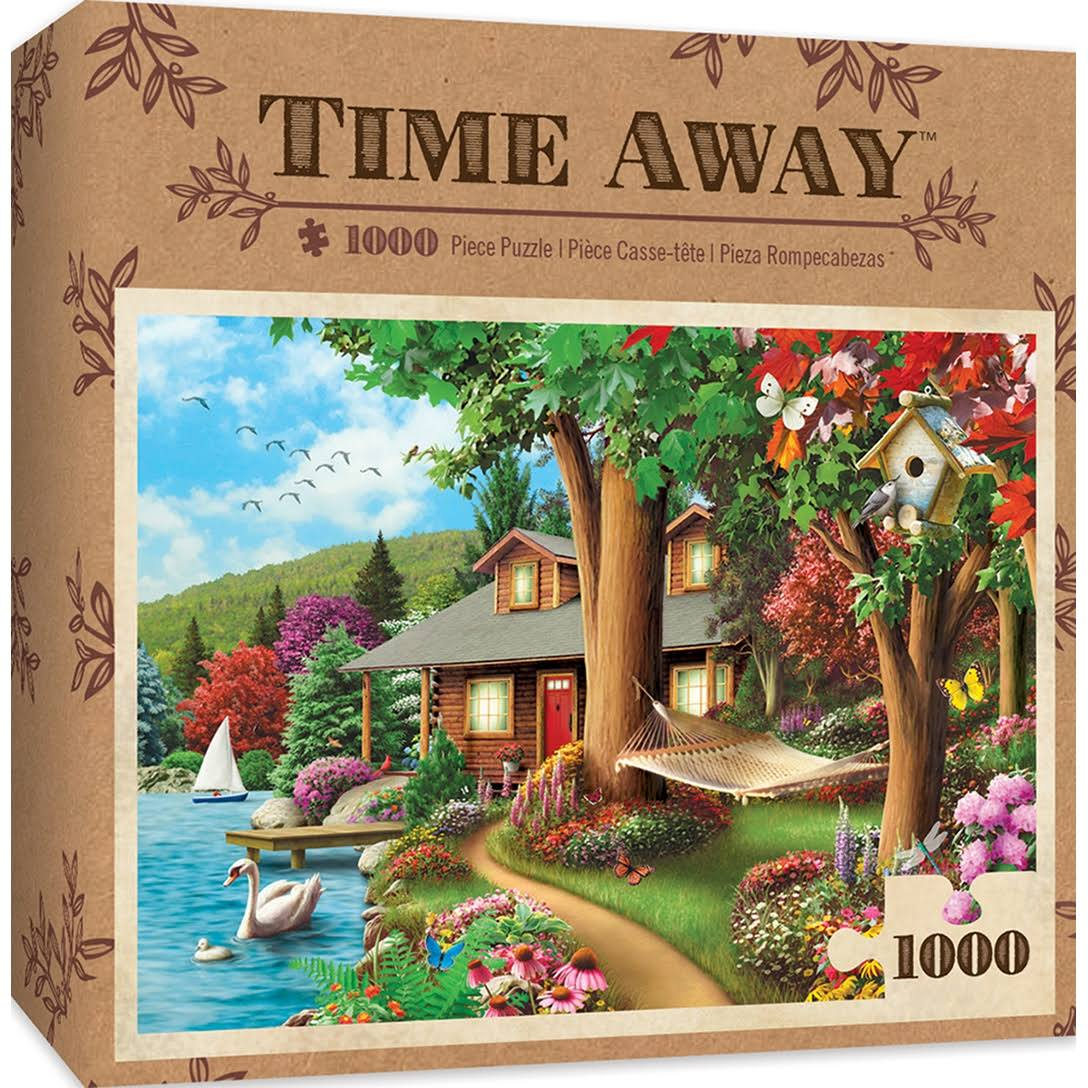 Masterpieces 71809 Time Away - Around The Lake Puzzle - 1000 Piece
