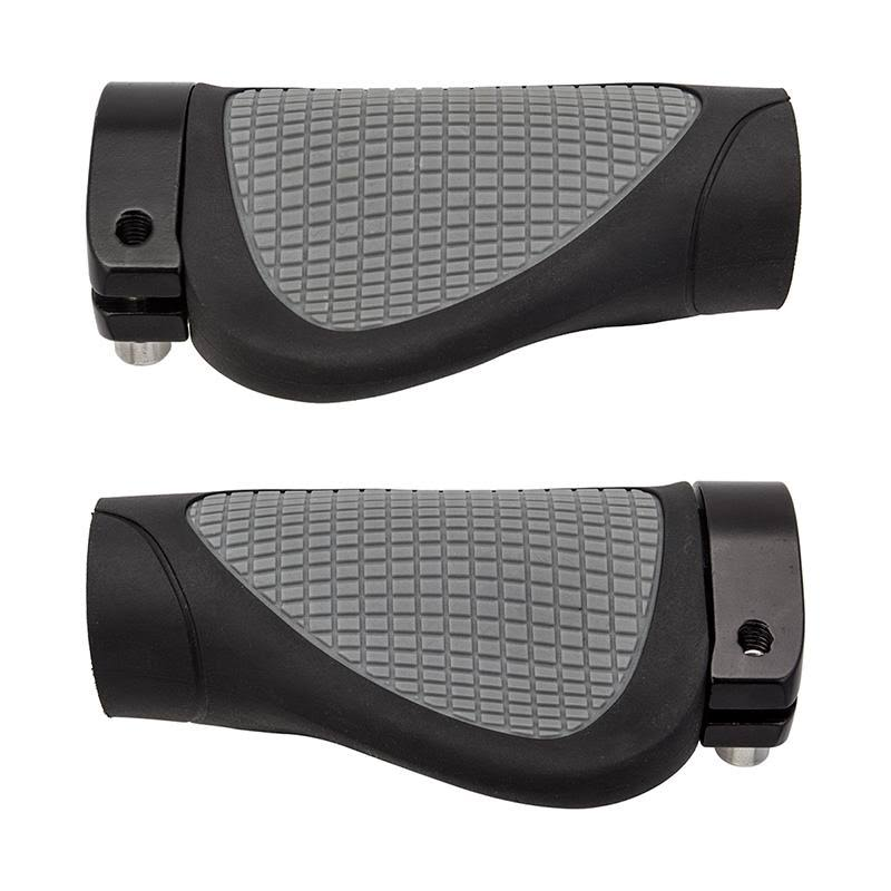 Sunlite Grips Ergo-Grip 95mm Black Sgl Locking