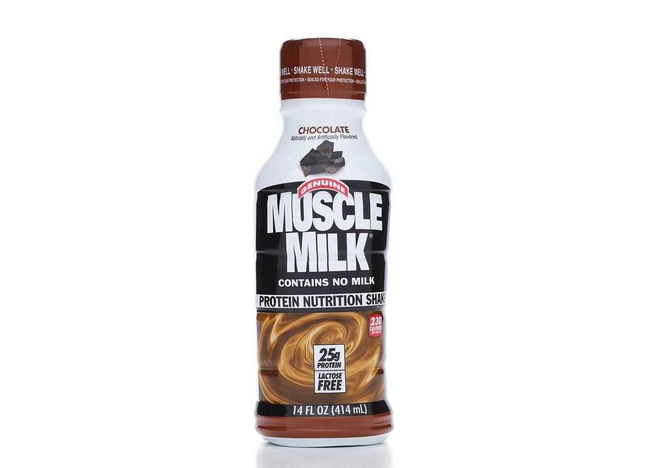 Muscle Milk Protein Nutrition Shake - Chocolate, 414ml