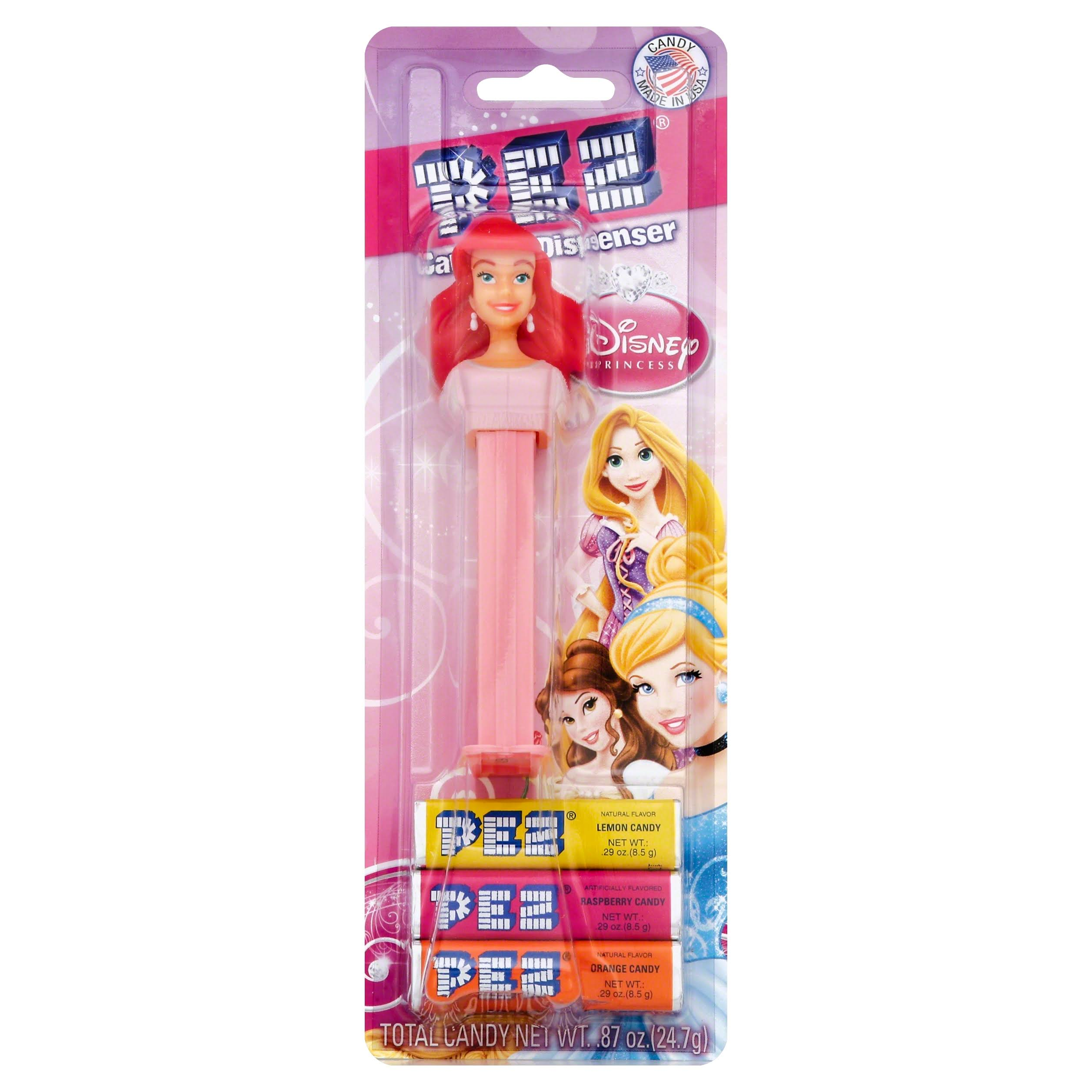 PEZ Candy & Dispenser, Disney Princess - 1 set, 0.87 oz