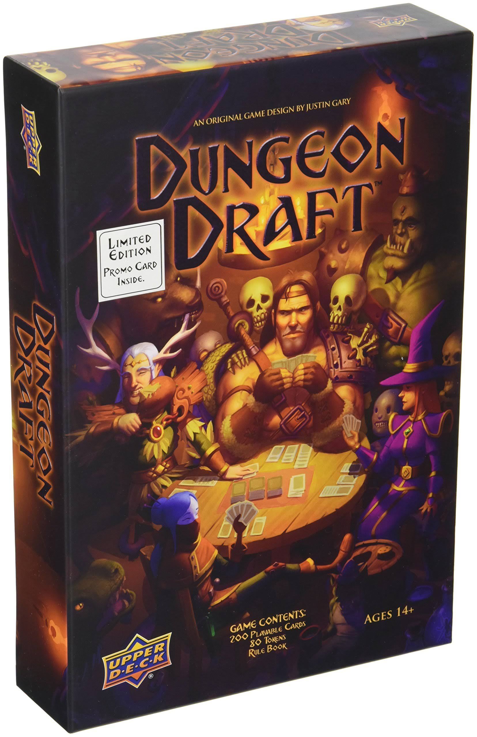 Dungeon Draft Card Game