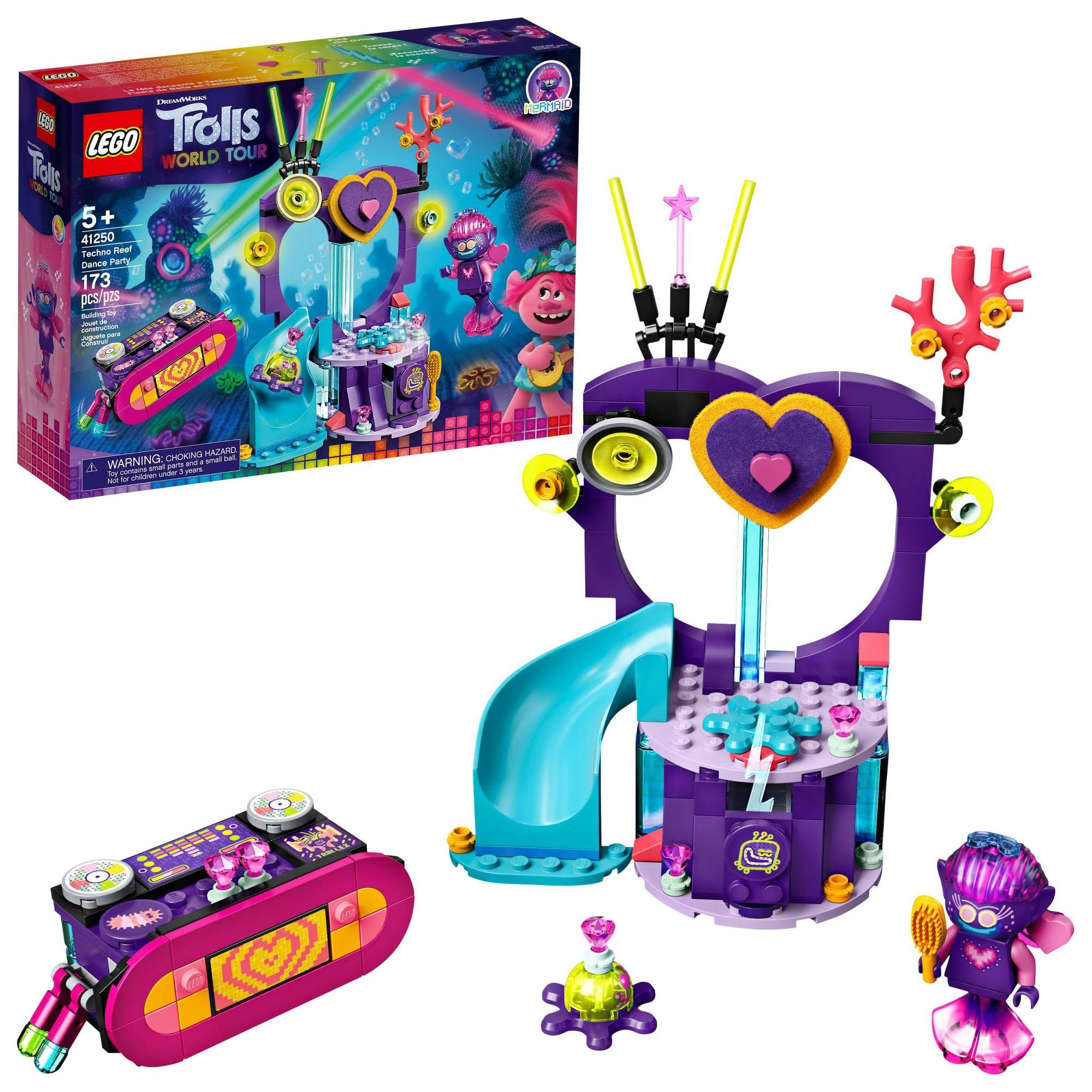 Lego - Trolls World Tour Techno Reef Dance Party 41250