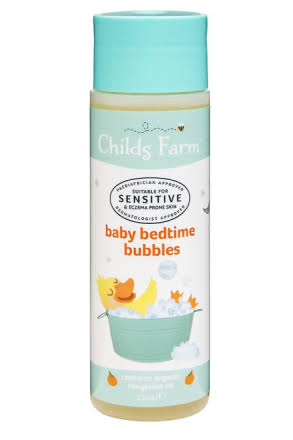 Childs Farm Baby Bedtime Bubbles - Organic Tangerine, 250ml