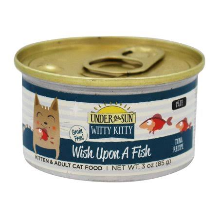 Canidae Pet Foods Under The Sun Witty Kitty Wish Upon a Fish Cat Food - Tuna, 3oz
