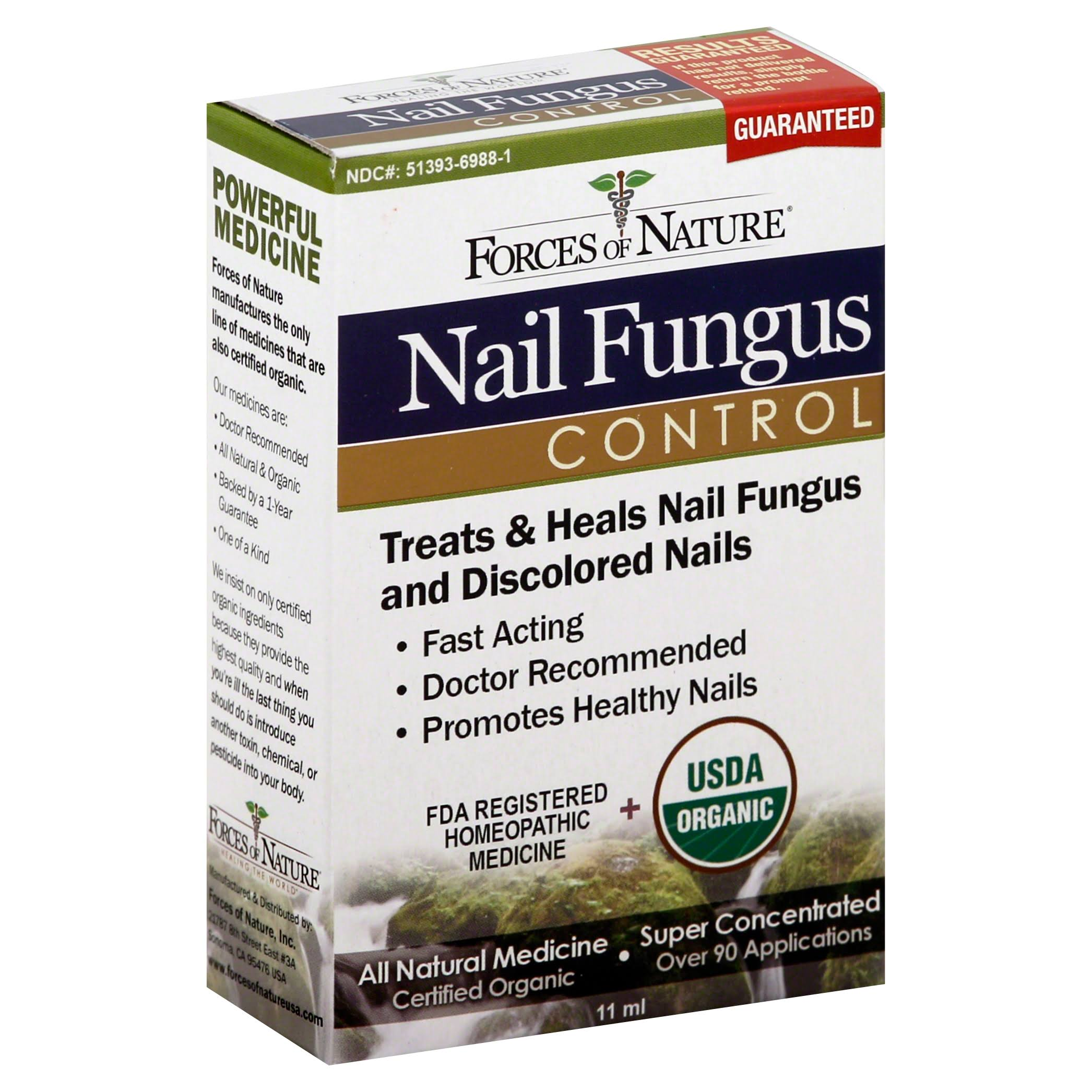 Forces of Nature Nail Fungus Control - 11g