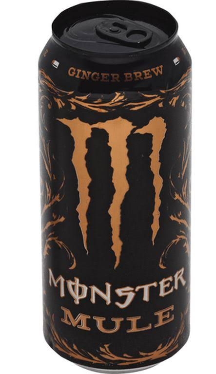 Monster Mule Ginger Brew Energy Drink - 16oz