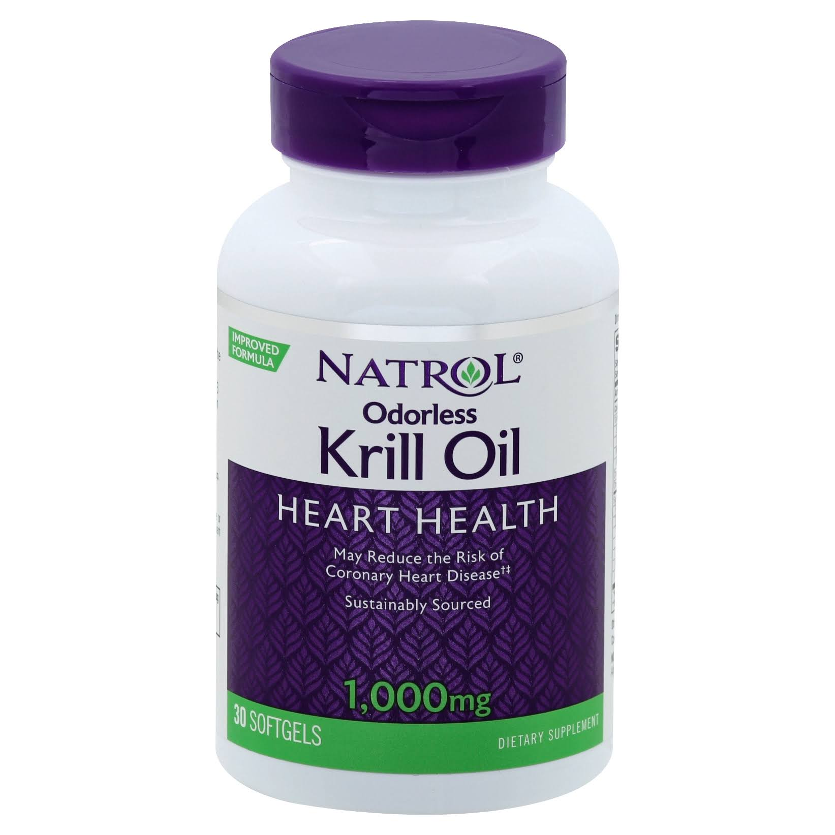 Natrol Omega 3 Krill Oil Dietary Supplement - 30ct
