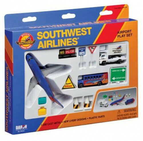 Daron Southwest Airlines Airport Play Set - 12pc