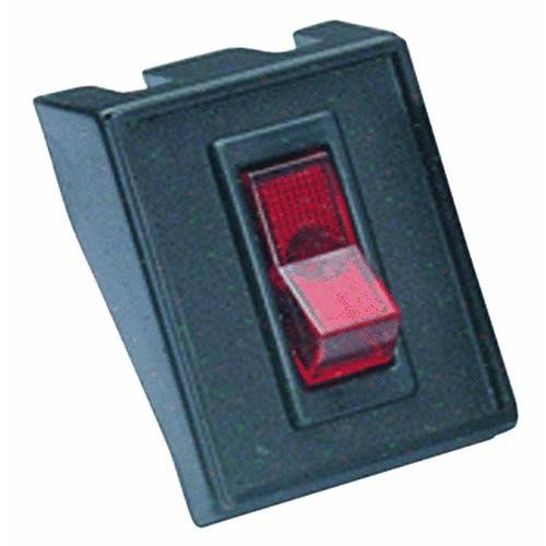 GB Electrical Red Rocker Switch