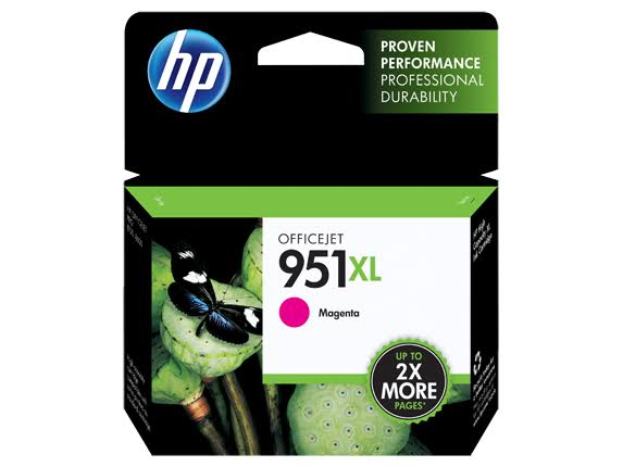 HP 951XL High Yield Original Ink Cartridge - Magenta