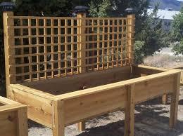 beautiful raised planter boxes plans raised planter box plans