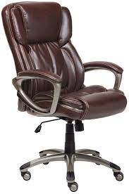 Lorell Executive High Back Chair Mesh Fabric by True Innovations Simply Comfortable Bonded Leather Executive Chair