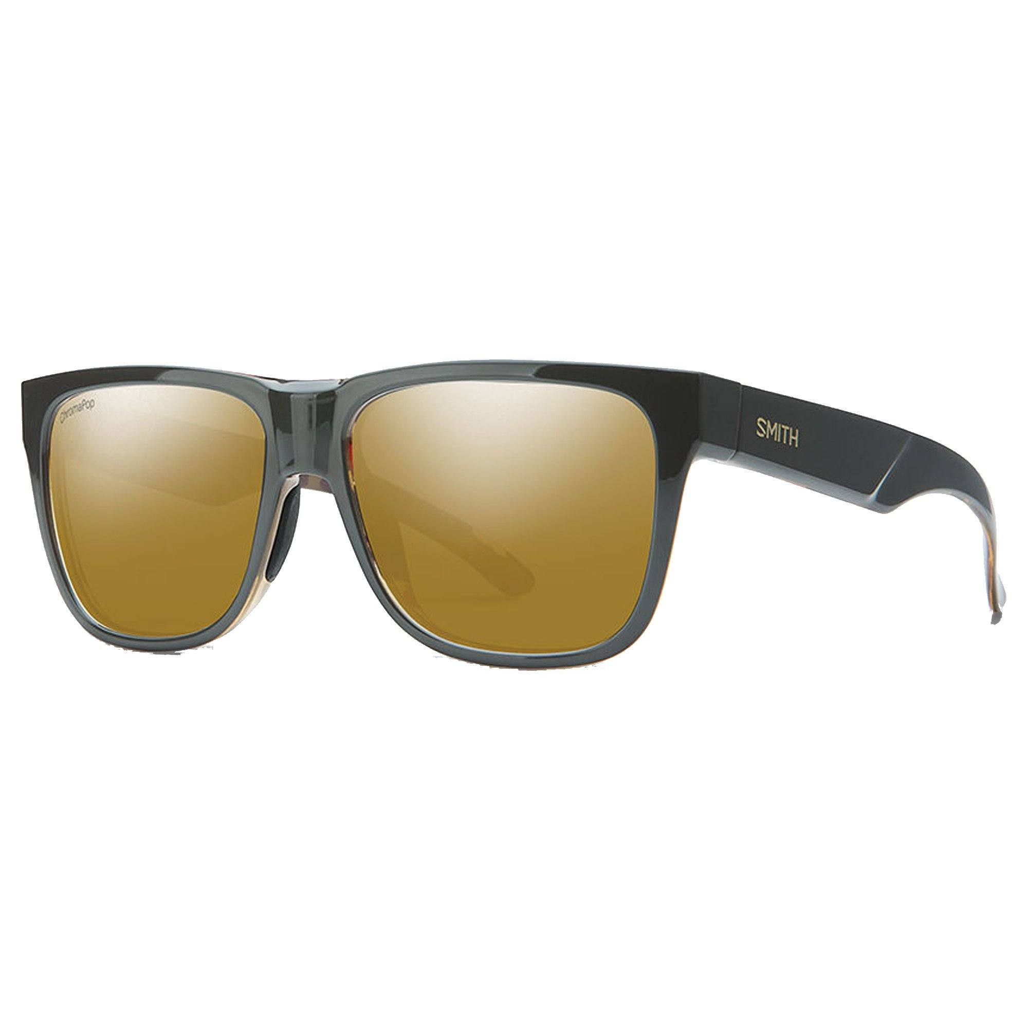 Smith Lowdown 2 Sunglasses - Polarized Chromapop - Gravy Tortoise Bronze Mirror