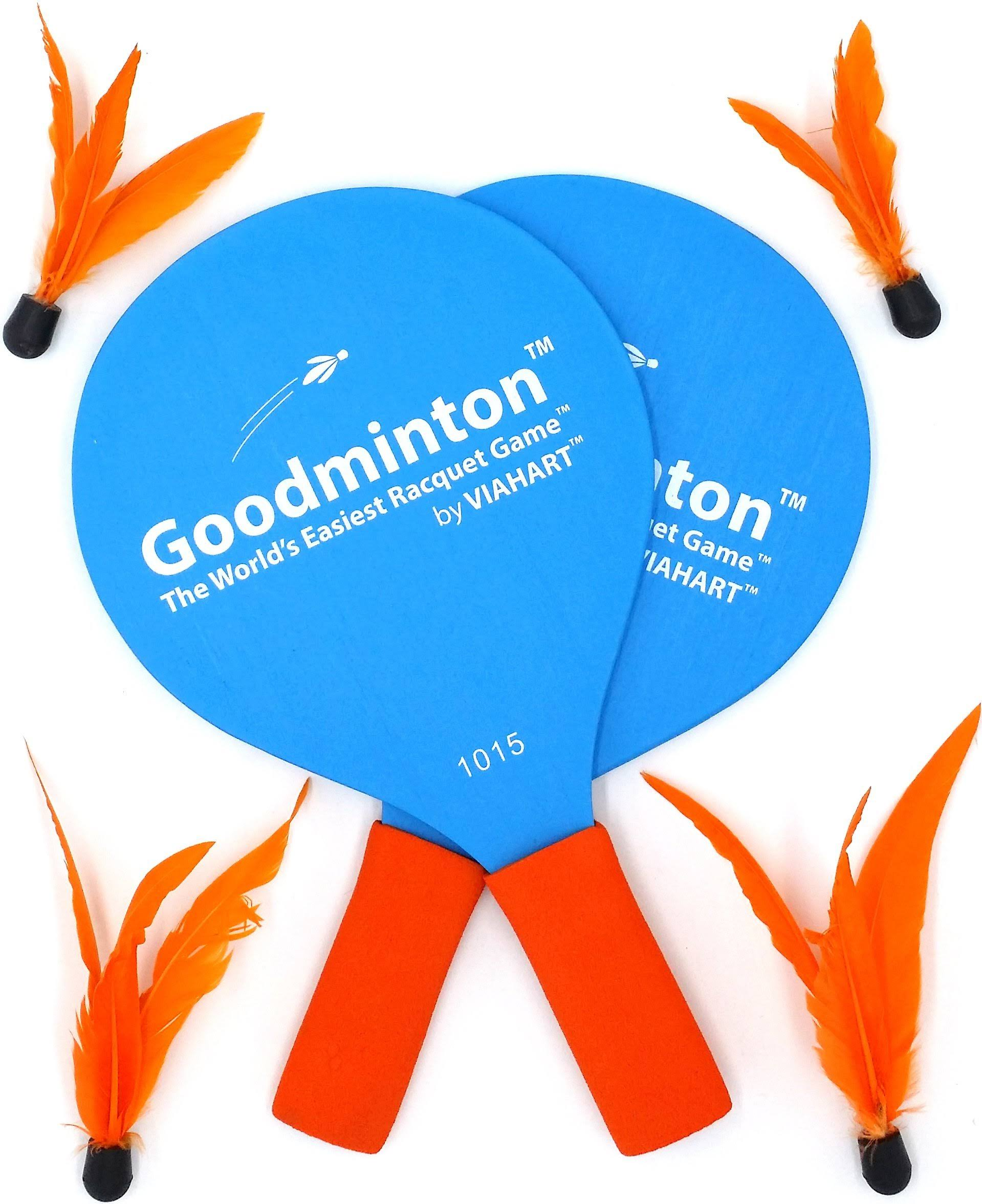 Goodminton Complete Sets: The Worlds Easiest Racket Game