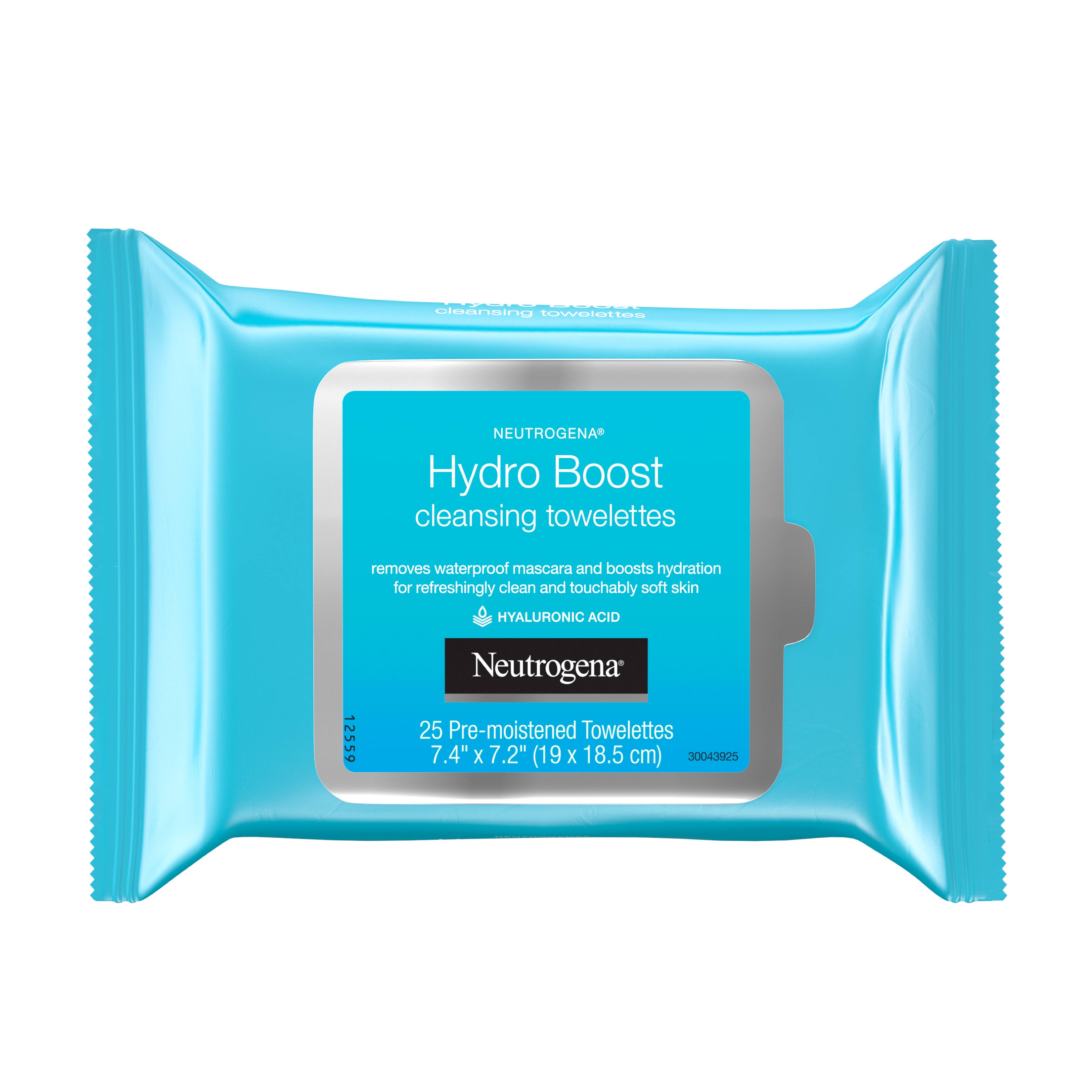 Neutrogena Towelettes, Cleansing, Hydro Boost - 25 towelettes