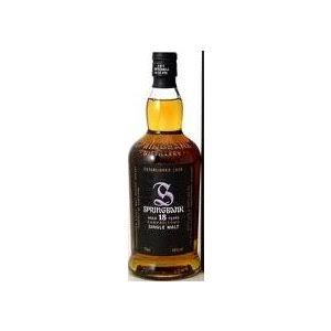 Springbank 18 Year Old Single Malt Scotch Whisky