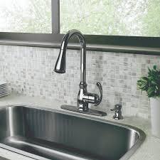 Moen Sage Kitchen Faucet touchless kitchen faucet brushed nickel faucet ideas