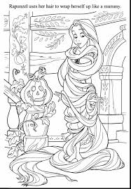 Disney Halloween Coloring Pages by Awesome Flynn Rider Printable Coloring Pages With Rapunzel