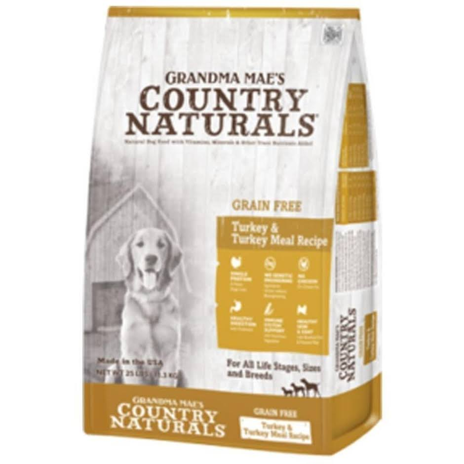Grandma Maes Country 46000702 Naturals Limited Ingredient Grain Free Turkey Dog Food - 14 lbs