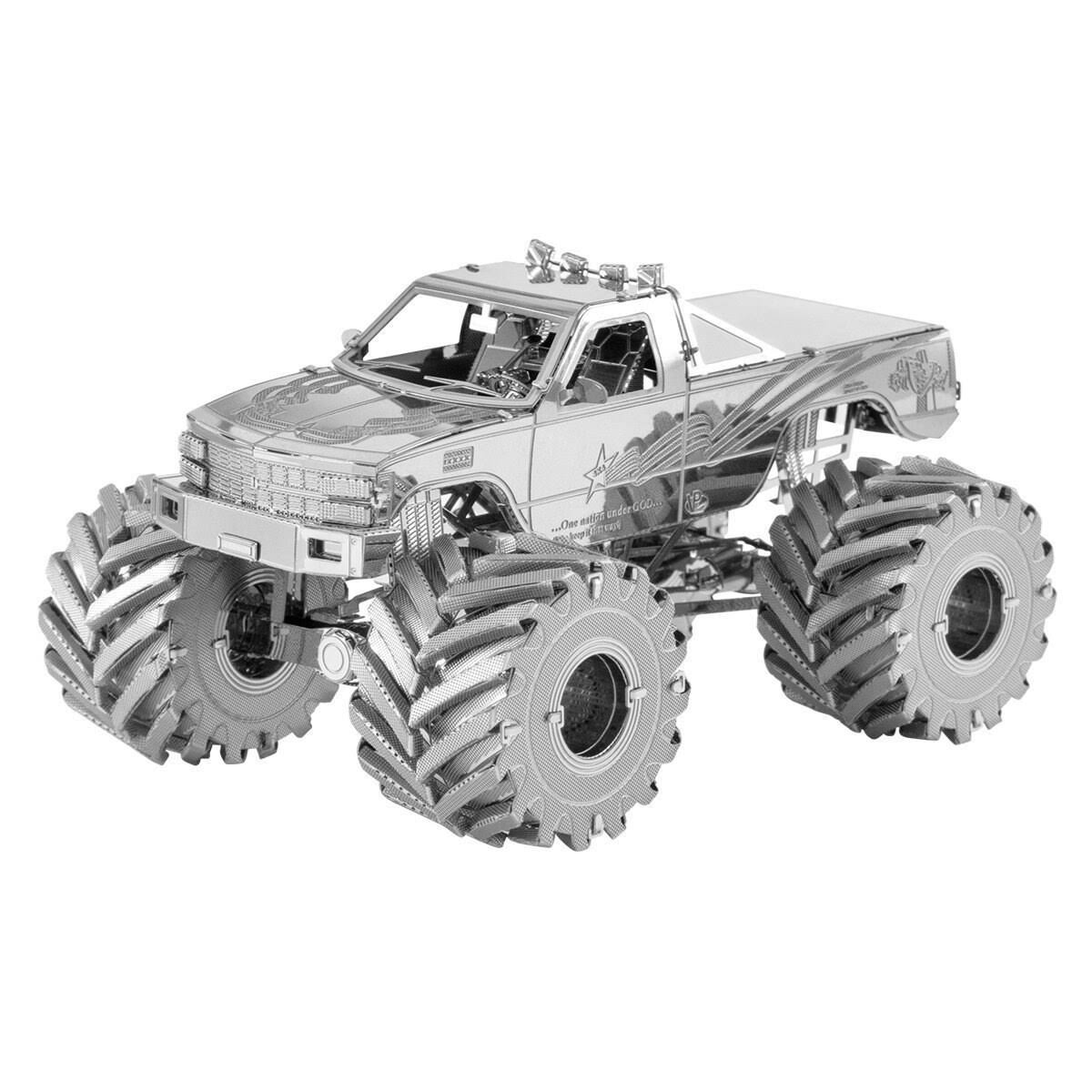 Metal Earth Monster Truck 3D Model Kit
