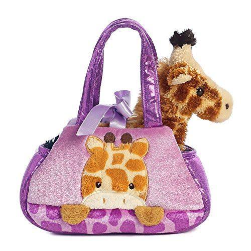Aurora World Fancy Pals Peek A Boo Plush Toy - Giraffe, Small