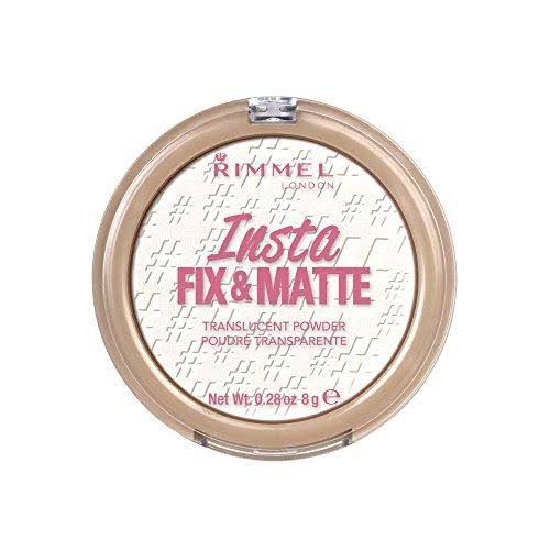 Rimmel London Insta Fix and Matte Translucent Powder - 8g