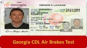 Georgia CDL Air Brakes Test - YouTube
