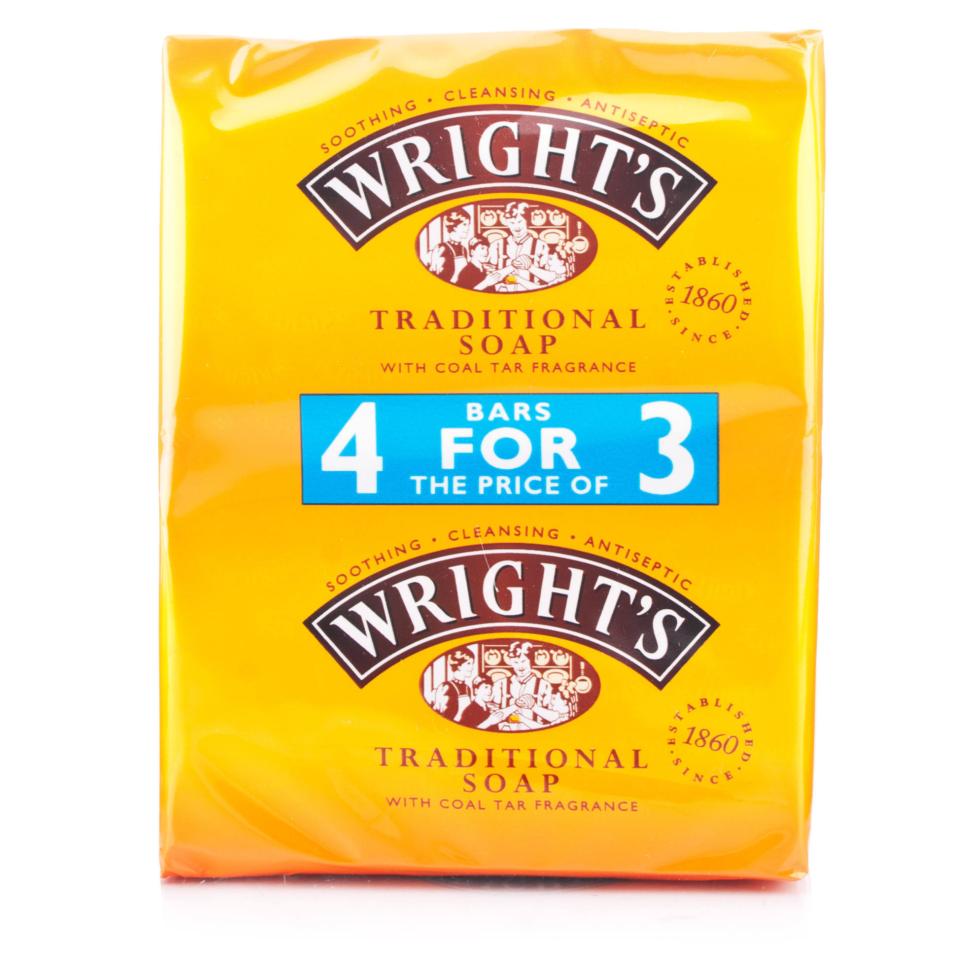 Wright's Traditional Coal Tar Soap