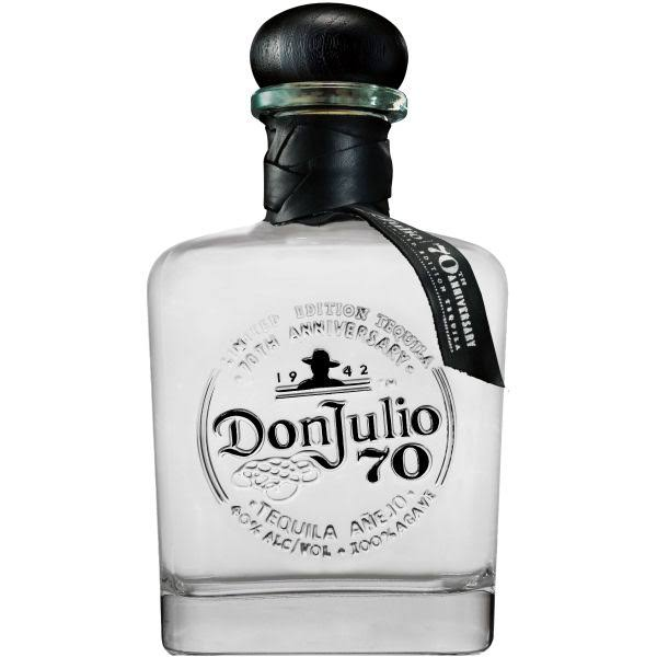 Don Julio Anejo Claro 70th Anniversary Tequila - 750 ml bottle