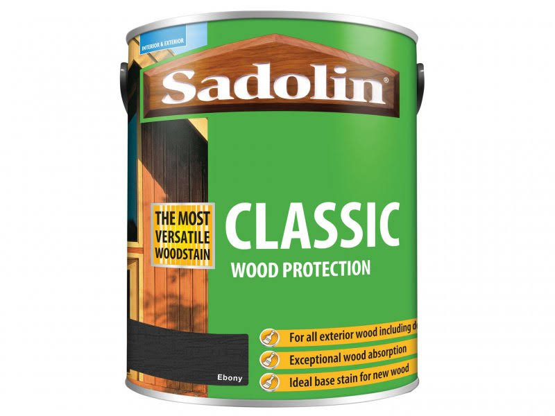 Sadolin - Classic Wood Protection Ebony 5 Litre