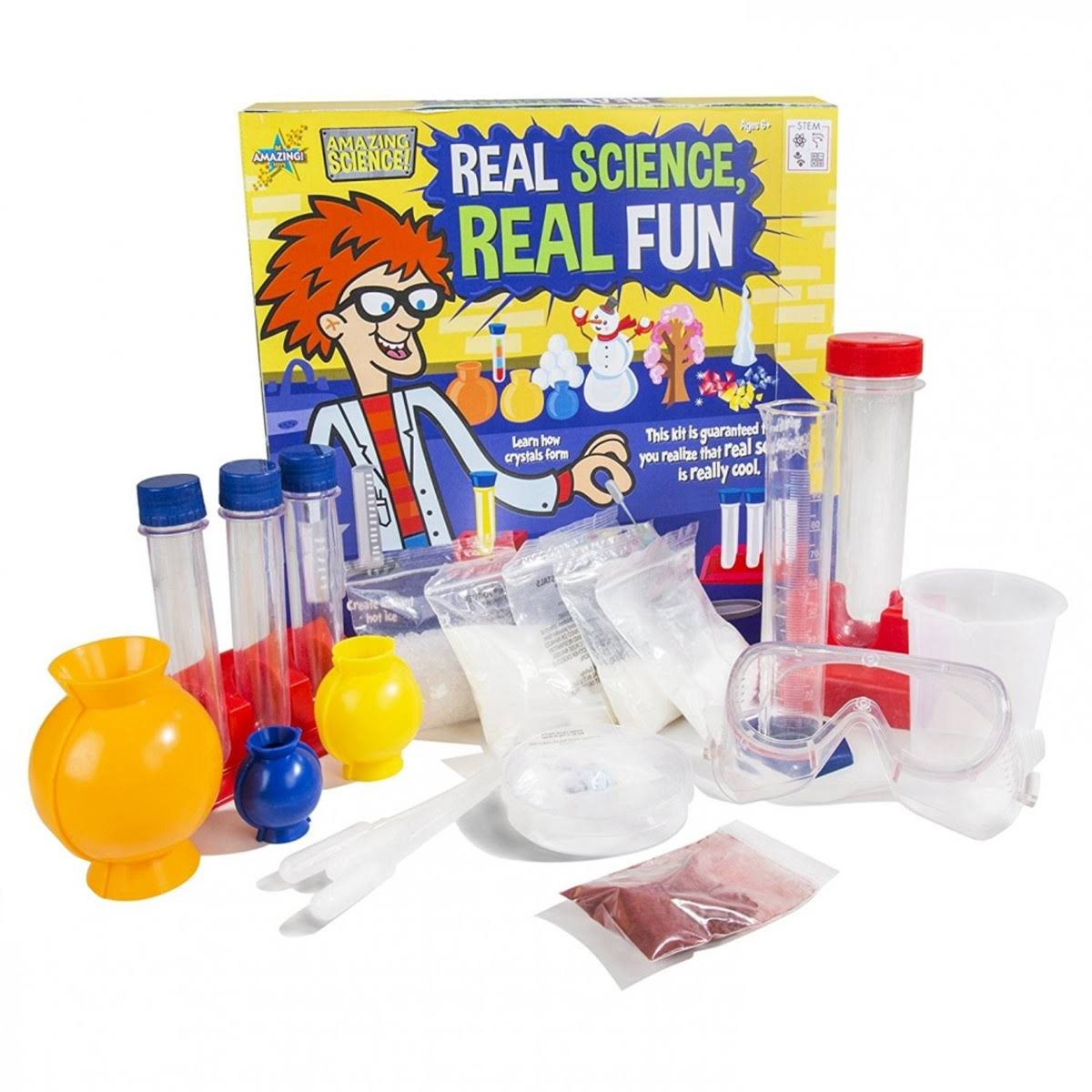 Real Science Real Fun Experiments Science Toy