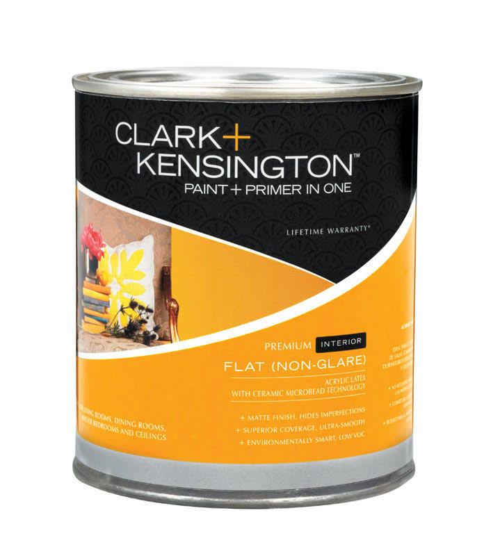 Clark + Kensington Interior Latex Flat Paint and Primer , HardwareOnlineStore