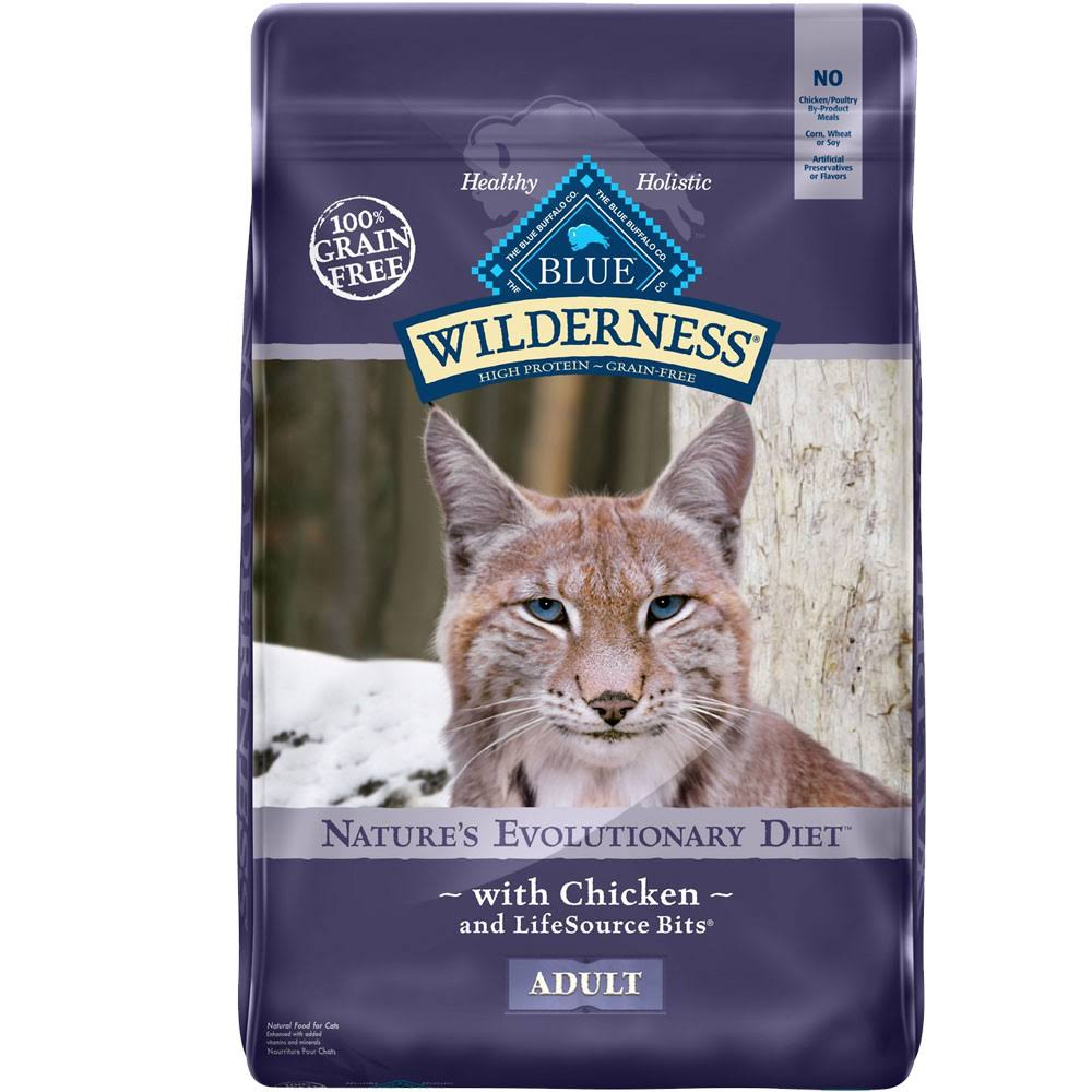 Blue Buffalo Wilderness Grain Dry Cat Food - Chicken Recipe