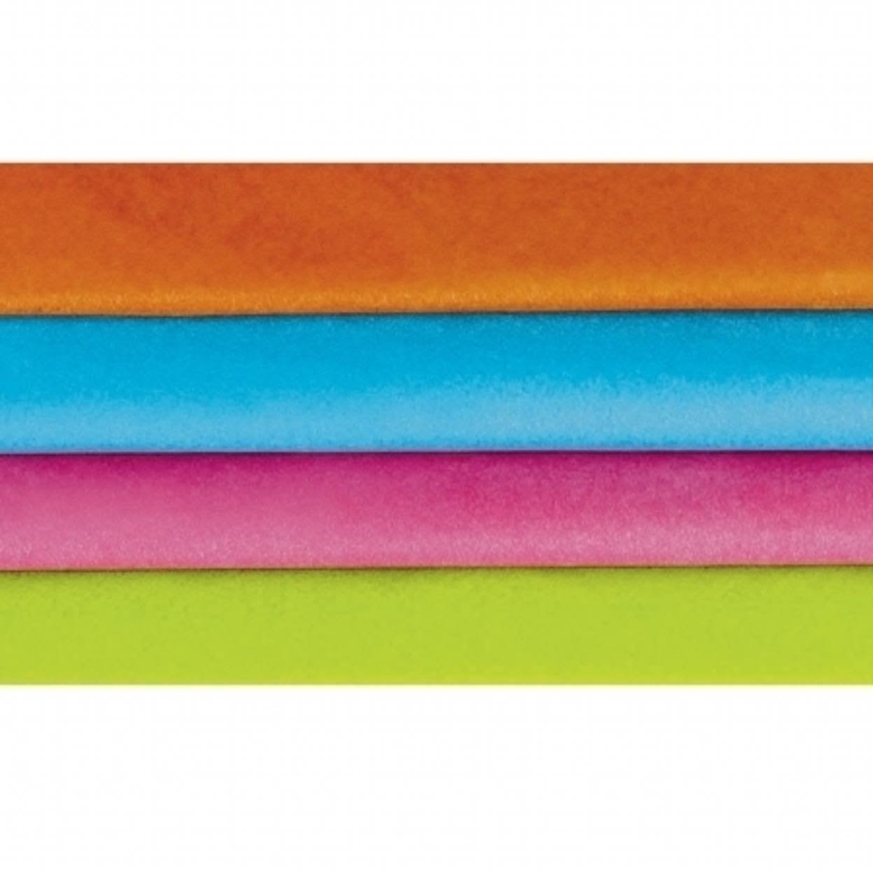 "Amscan 221635 Bright Colors Tissue Paper - 20"" x 20"""