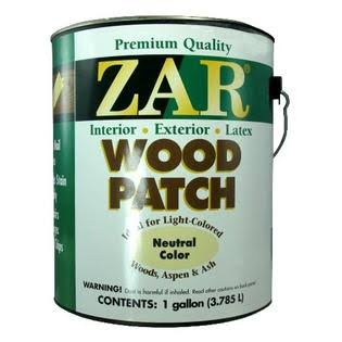 Zar Interior Wood Patch - Neutral Color, 1gal
