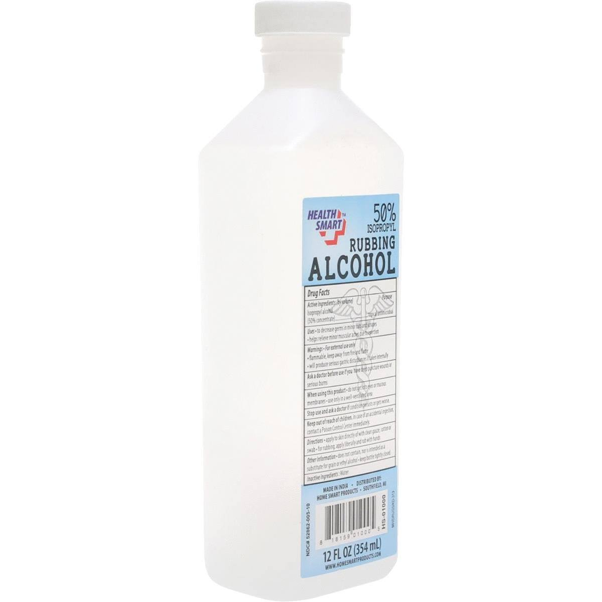 International Wholesale HS-01000 12oz Rubbing Alcohol Pack of 24