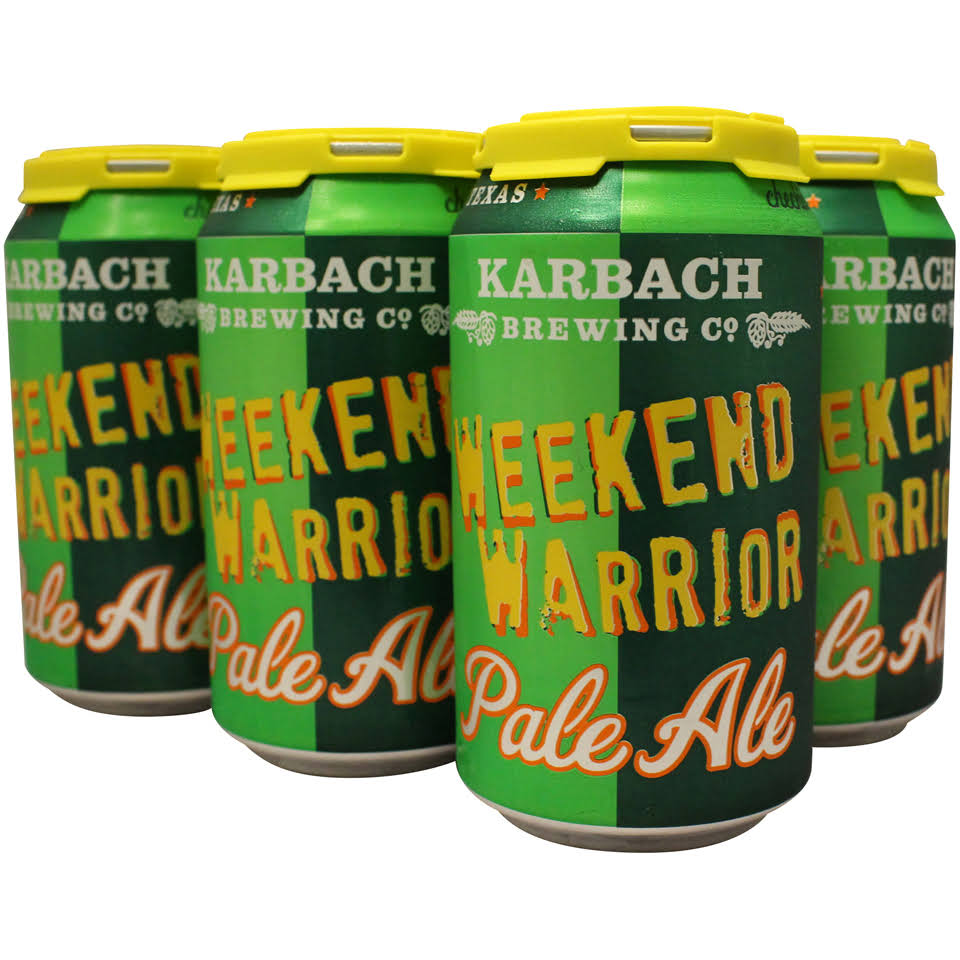 Karbach Weekend Warrior Pale Ale - 6 pack, 12 fl oz cans