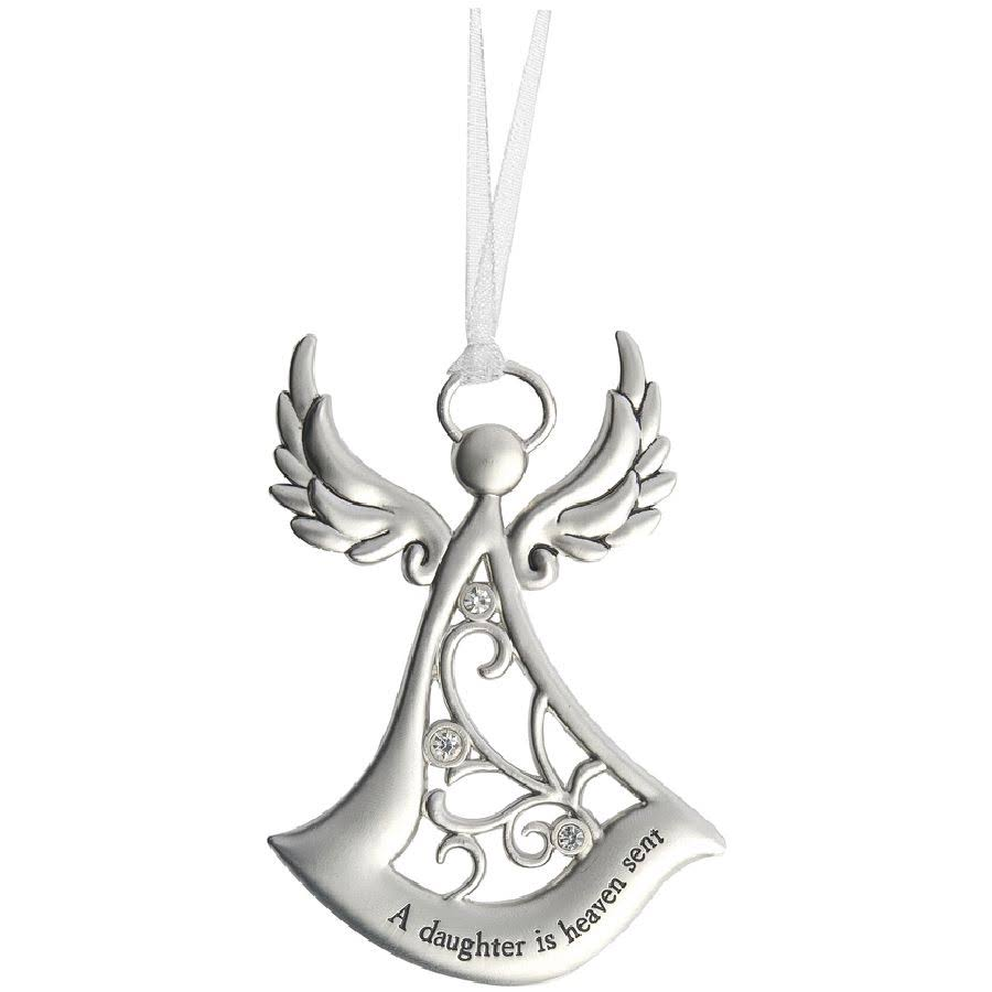 Ganz Angels By Your Side Ornament - A Daughter is a Heaven Sent