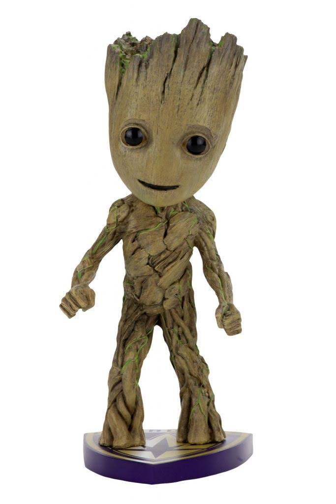 Marvel Guardians of the Galaxy 2 Head Knocker Action Figure - Groot, 7""