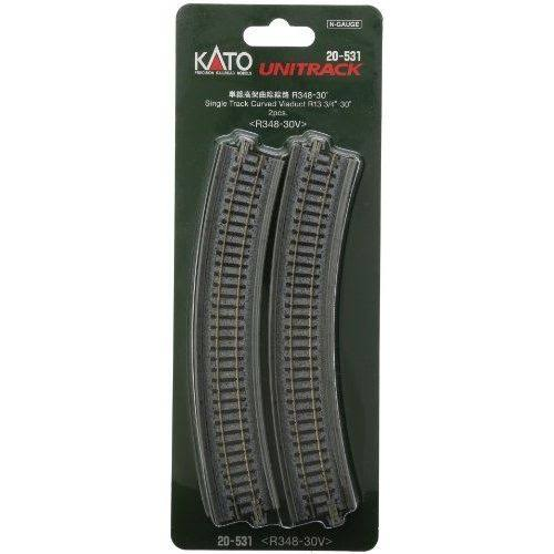 Kato Single Viaduct Track - 348mm