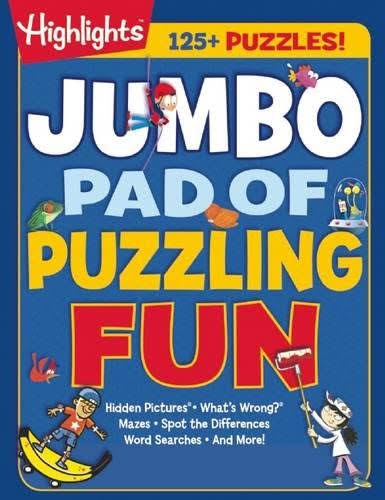 Jumbo Pad of Puzzling Fun - Highlights Press