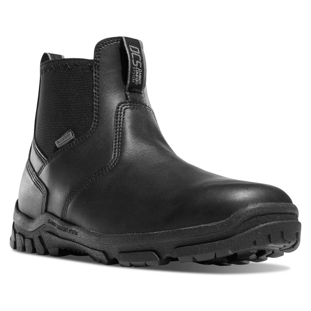 Danner Men's Lookout Station Office 5.5 in. Boot Black 9.5