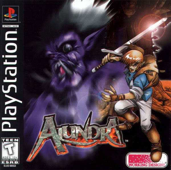 Alundra Game [PS1]