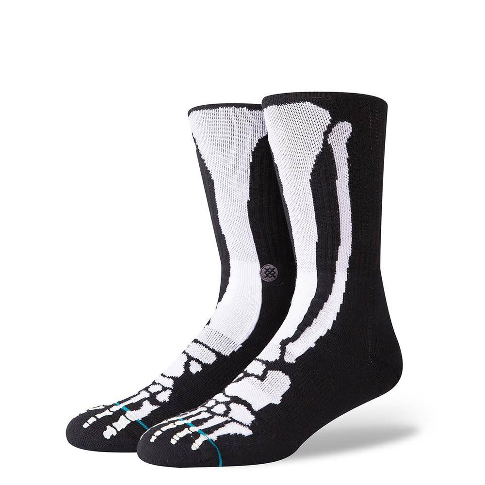 Stance Bones 2 Socks Black