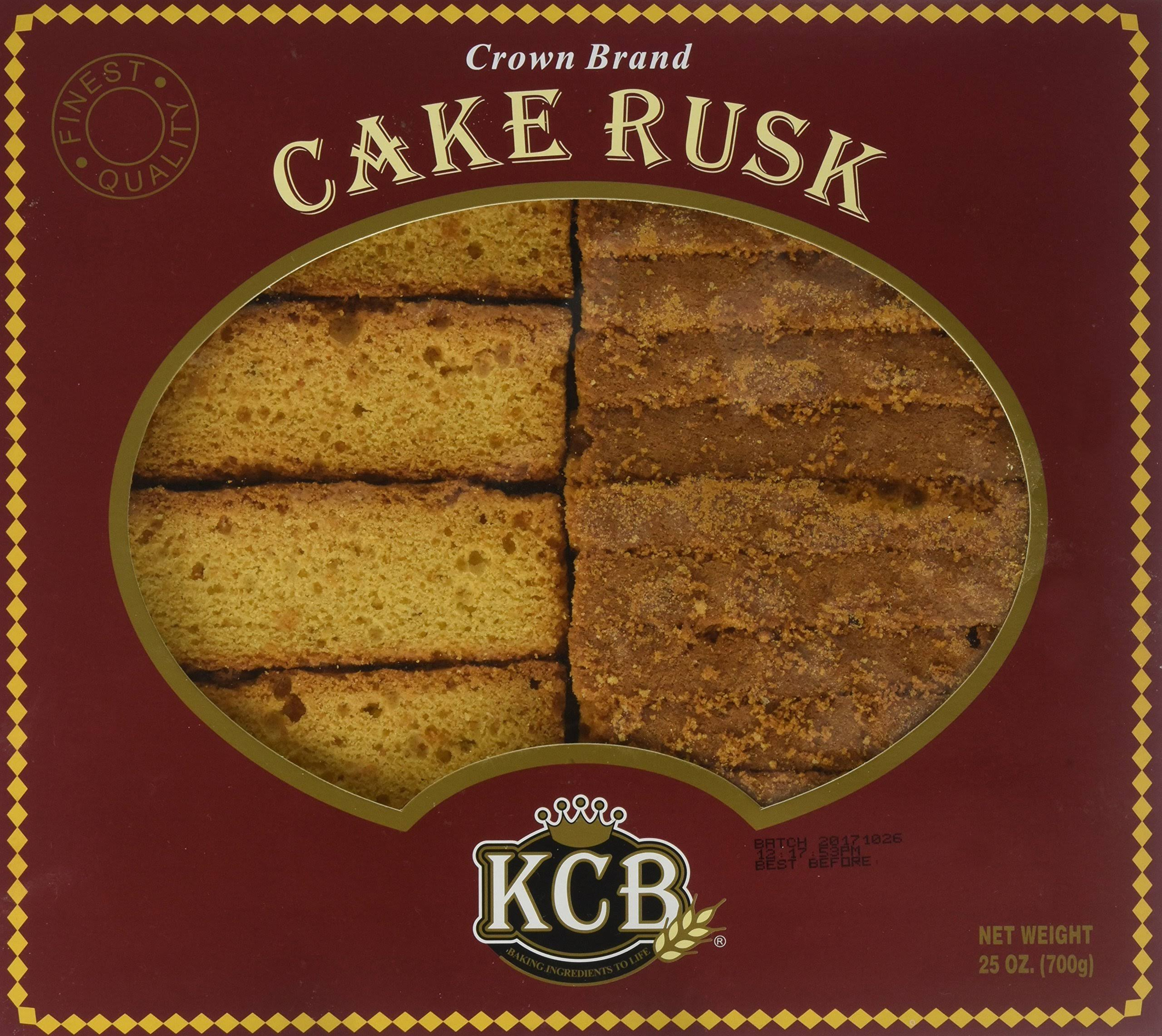Kashmir Crown Bakeries Crown Brand Cake Rusk